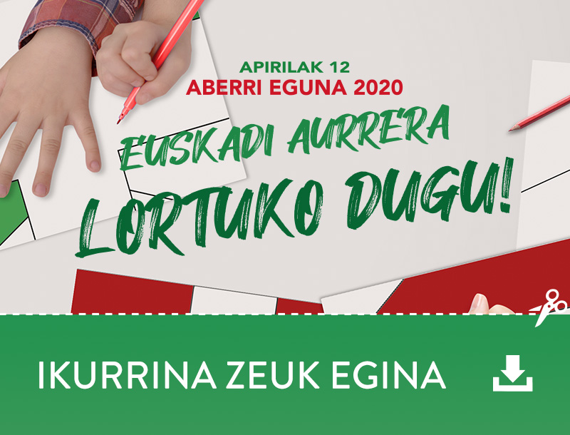 Aberri Eguna - Ikurrina Zeuk Egina
