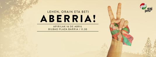 Lehen, orain eta beti Aberria!