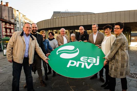 El PNV presenta el decálogo que ha elaborado tras finalizar el proceso de participación con los agentes sociales del municipio