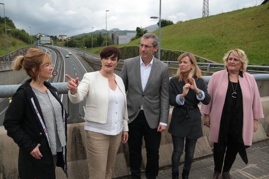 """EAJ-PNV reitera su """"compromiso"""" para descongestionar el tráfico de Bazkardo con un nuevo viaducto"""