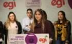 Martxoaren 8aren aldeko EGIren manifestuaren irakurketa - 2019