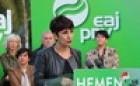 Mitina. Errenteria. Joseba Agirretxea, Maribel Vaquero, Joseba Egibar, Maite Peña.