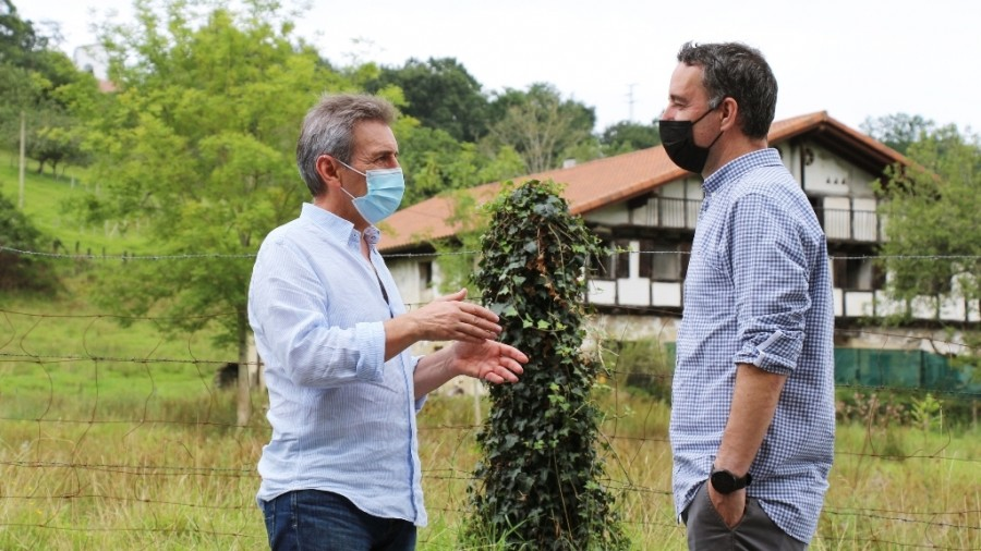 EAJ-PNV plantea potenciar las zonas verdes de Irun