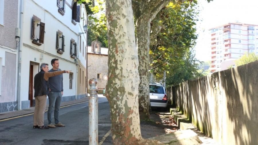 Desde EAJ-PNV solicitamos al gobierno que cumpla su compromiso de reurbanizar la calle Ermita