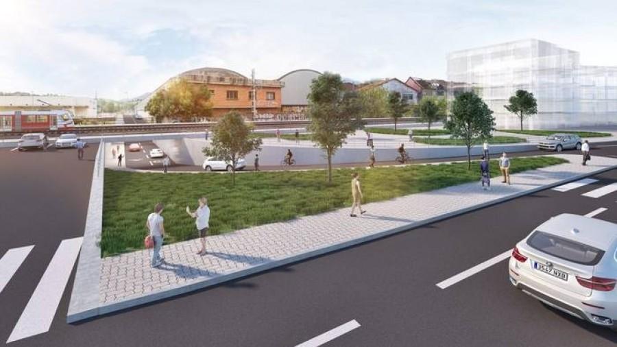 Nuestra propuesta proporciona una salida directa desde la Florida al puente de Zubiondo